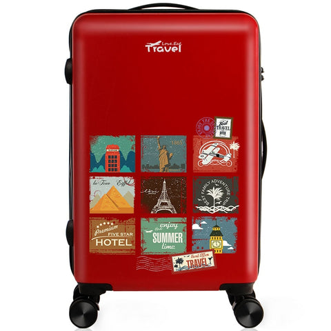 Luggage Bag Cartoon Unisex Spinner High Quality Suitcase Waterproof Scratch Proof Luggage Bag
