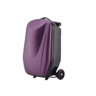 Rolling Skateboard Trolley Luggage Bag,Travel Suitcase Case With Skating Wheel