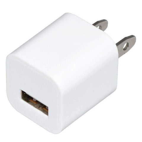 Usb Wall Charger Power Adapter - White