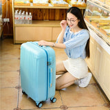 Women Luggage With Handbag,Candy Colors Suitcase Bag Set,New Abs Travel Case,Rolling Trip Box