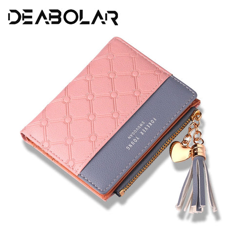 2019 New Women'S Cute Fashion Purse Leather Long Zip Wallet Coin Card Holder Soft Leather Phone