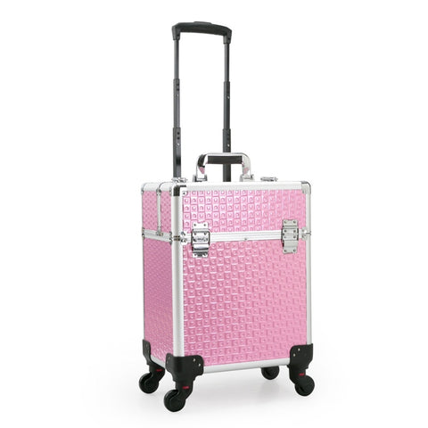 Trolley Cosmetic Case Luggage Profession Suitcase For Makeup Trolley Box Nails Beauty Woman Luggage