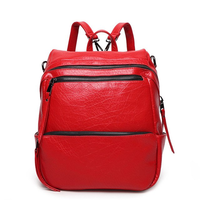 New Woman Backpack Fashion 2019 Designers Bag Ladies Canvas Backpack Female High Quality Bags For