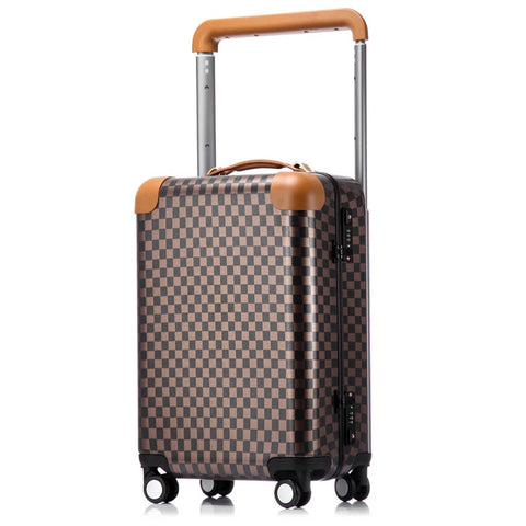 Travel Suitcase With Wheel Rolling Luggage Spinner Trolley Case Woman Cosmetic Case Carry-On