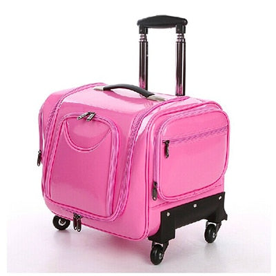 New Luxury Luggage Bag Beauty And Hairdressing Manicure Embroidery Toolbox Brand Designmakeup