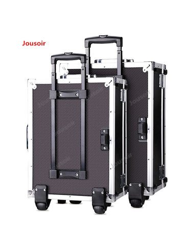 Aluminum Frame Digital Cameras Rolling Suitcase Photographic Equipment Professional Slr Camera