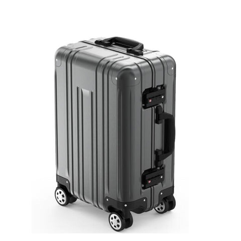 "100% Aluminum Trolley Case,20""Boarding Luggage,Universal Wheel Password Box,High-End"