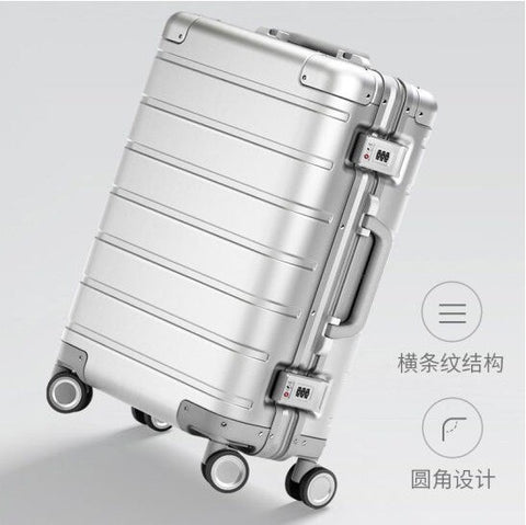 Carrylove High Quality Fashion 20 Size 100% Aluminum-Magnesium Xm90 Rolling Luggage Spinner Brand