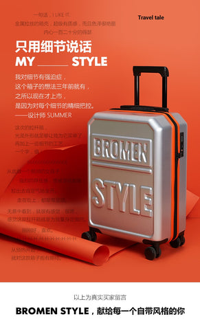 "Travel Tale Fashion High Quality  Pc 20""/24""/28""Rolling Luggage Spinner Brand Travel Suitcase"