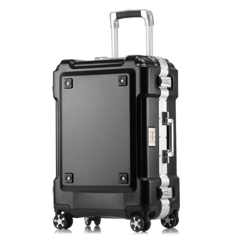 24 29 Inch High Capacity Aluminium Frame Rolling Luggage Trolley Travel Bag 20 Inch Women Men
