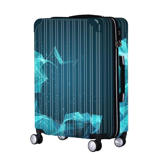 Universal Wheel Luggage,Fashion Boutique Aluminum Frame Trolley Case,Men And Women