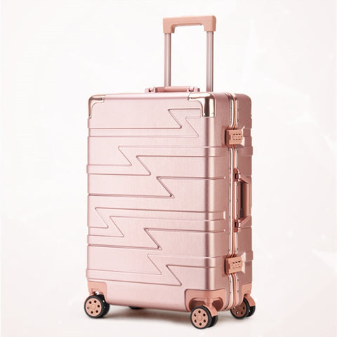 Lightweight Suitcase,Abs+Pc Trolley Case,Classic Suitcase,Tsa Password Box,Universal Wheel
