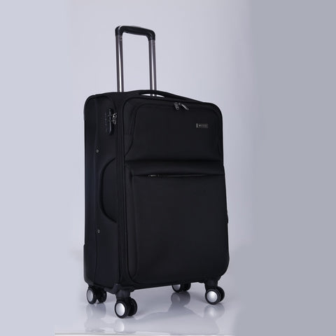 Business Travel Rolling Luggage Men Women Airplane Suitcase Clothing Carry On Trolley Fabric Soft