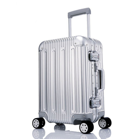 Travel Tale Noble High Quality Aluminum-Magnesium Alloy Spinner Travel Brand Suitcase Hand