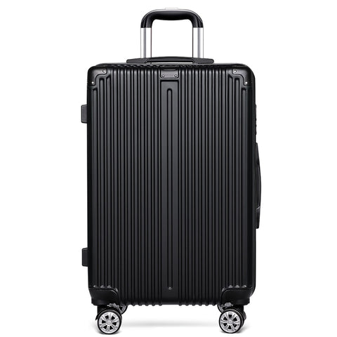 New Fashion Pc&Abs Hardside Luggage For Women Bording Trolley Bags For Men Aluminium Frame Draw Bar