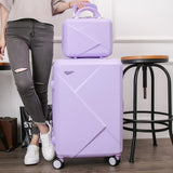 Abs +Pc Rolling Luggage Suitcase Trolley,Stylish And Convenient Trolley Case,Super Storage