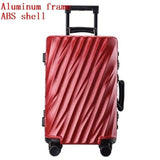 "20""Business Boarding Box,Aluminum Frame Sitcase,Carry-Ons Trolley Case,24""26""28""Rolling"
