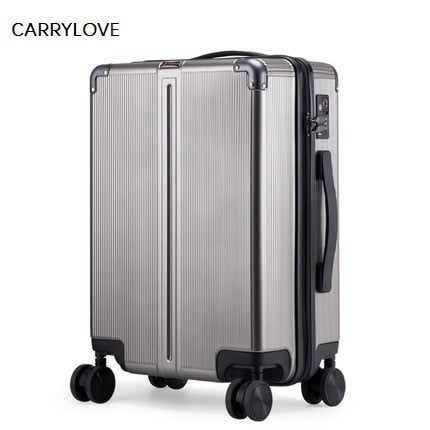 Carrylove High Quality, Business, Sexy, Male 20/24 Inch Size Abs Rolling Luggage Spinner Brand
