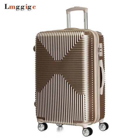 "Pc+Abs Travel Luggage Suitcase Bag,New Rolling Trolley Case,Pc+Abs Carry-On,20""24""28"" Inch"