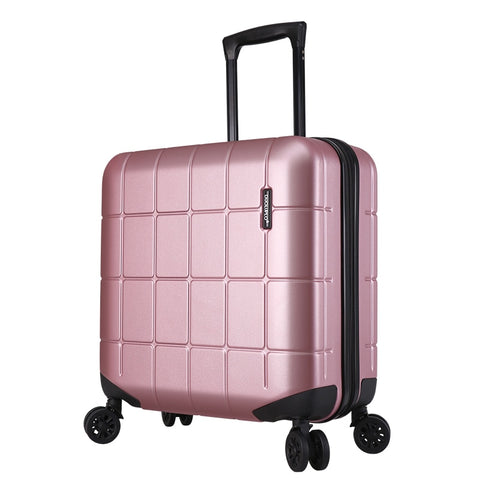 "Pc18""Boutique Trolley Case,Flight Attendant Boarding Password Box,Hard Shell Luggage,Silent"