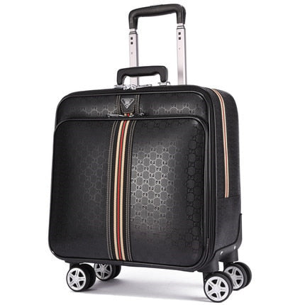 "Premium Luggage,Personalized Trolley Case,Universal Wheel Travel Password Box,16""/20"" Inch"