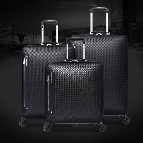 Business Trolley Case,Pu Universal Wheel Luggage,24 Inch Password Trunk,16/20 Inch Boarding