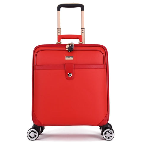 "Universal Wheel Trolley Case,High Quality Metal Handlebar Luggage,16""/20""Boarding Box,Waterproof"