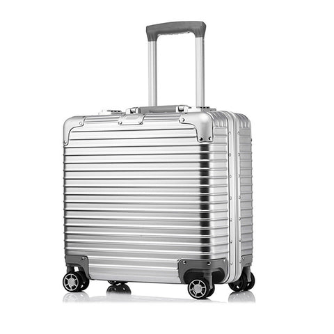 18Inch Suitcase Captain Airborne Chassis Box Fashion Camera Travel Suitcase Aluminum Frame