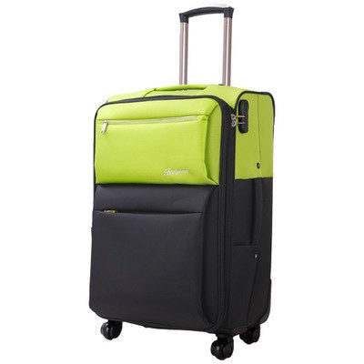 Carrylove Super Waterproof Luggage 20/24/28 Size Fashion Grid  Oxford Rolling Luggage Spinner Brand