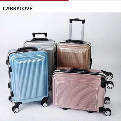 Carrylove Senior Business Luggage Series 20/24 Inch Size High Quality Pc Aluminum Frame  Rolling