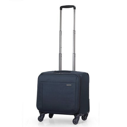 Commercial Trolley Luggage 16 Universal Wheels Small Luggage Travel Bag Cloth