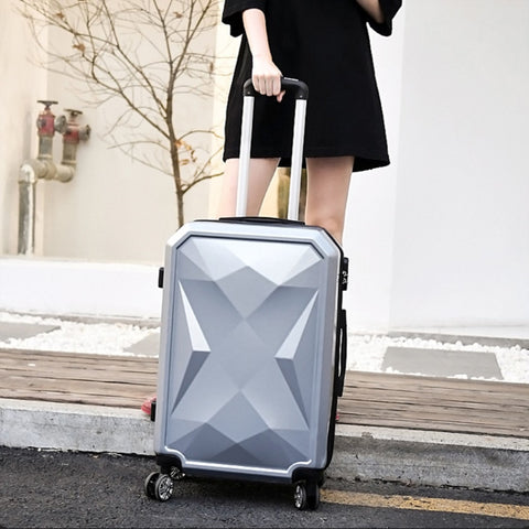 "Abs+Pc Drill Surface Suitcase,Rolling Luggage,Universal Wheel Hard Shell Trolley Case,20""Boarding"