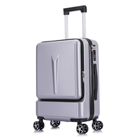 Abs Trolley Case,Large-Capacity Luggage,20-Inch Men'S Business Boarding Box,Universal Wheel