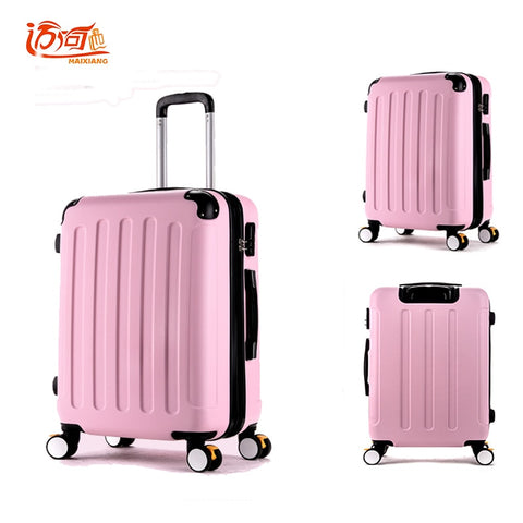 Ukraine Vintage Luggage Girls Pc Pink Luggage Suitcase Waterproof 20 Spinner Luggage Maleta