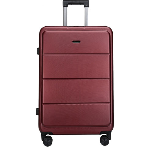 Portable Luggage,20-Inch Business Boarding Box,Tsa Password Suitcase,Stylish Trolley Case,Silent