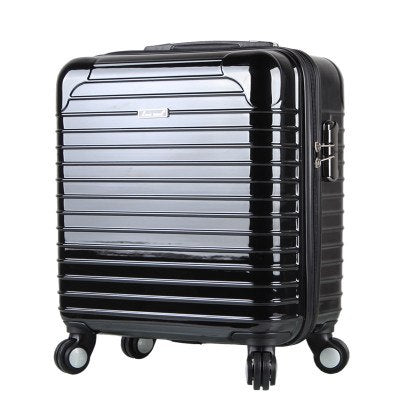 Business 17-Inch Boarding Box, Abs+Pc Mirror Trolley Case, Universal Wheel Men And Women