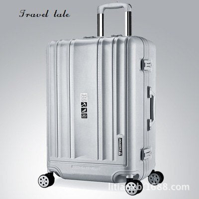 Travel Tale New High Quality 20/24 Inches Pp Rolling Luggage Fashion Customs Lock Spinner Brand