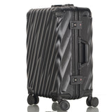Seabird20''22''24''26''28''Aluminum Frame Trolley Carry On Luggage Travel Cabine Tsa Lock Koffer