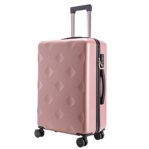 "New Style Luggage,Aluminum Trolley Case,20""Boarding Box,24""Password Leather Trunk,Universal Wheel"