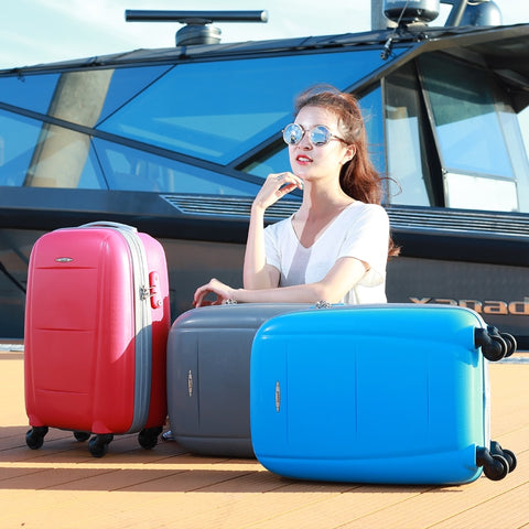 Lightweight Suitcase,Universal Wheel Boarding Password Box,Travel Trolley Case,20/24Beautiful