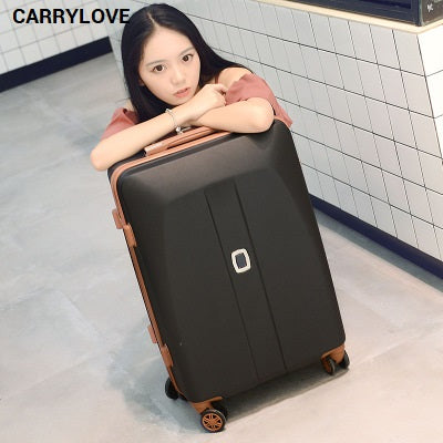 Carrylove Fashion Luggage Series 20/22/24/26 Inch Size Noble Pc Rolling Luggage Spinner Brand