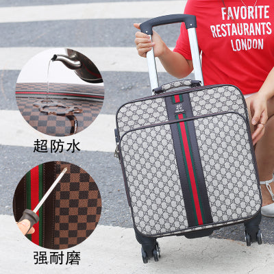 Travel Tale Classic Fashion, High Quality 16/20/24/26 Inch Creativity Pvc Rolling Luggage Spinner