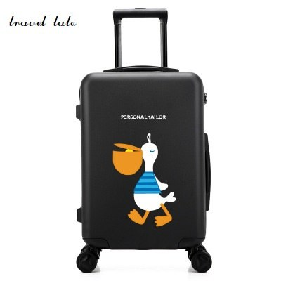 "Cartoon, Can Be Customized Design  Pc Rolling Luggage Spinner Brand Travel Suitcase 20""/24"""