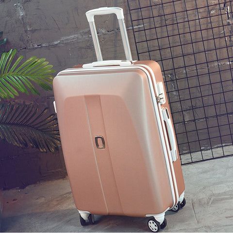 New Arrival!26Inches Abs Hardside Case Travel Luggage Bag On Universal Wheels,Men/Women Trolley