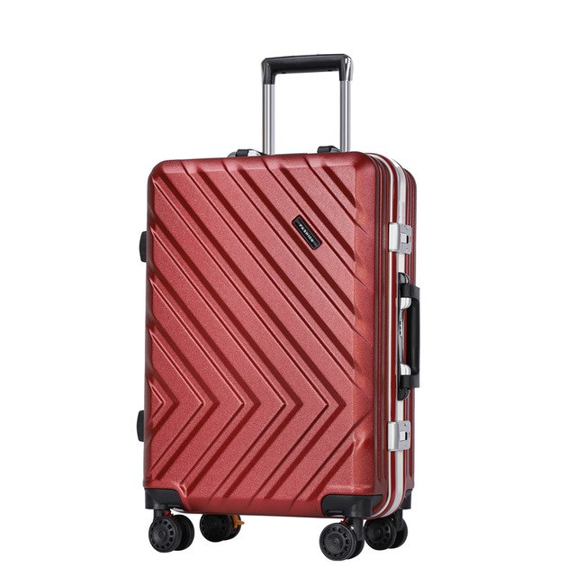 "High Quality Abs+Pc Trolley Case,20 "" 24"" Inch Suitcase,New Aluminum Frame Luggage,Stylish"
