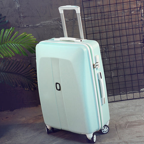 New Arrival!24Inches Abs Hardside Case Travel Luggage Bag On Universal Wheels,Men/Women Trolley