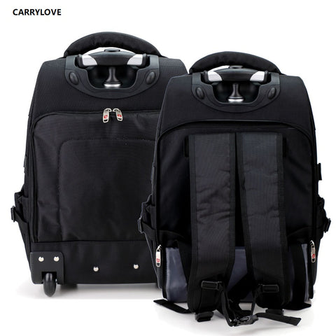 Carrylove Business Travel Bag 17/20 Inch  Size Suitable For Short-Term Travel Oxford Luggage