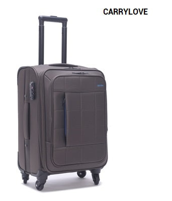 Carrylove 2018 Business Luggage 20/24/28 Size High Capacity Oxford Rolling Luggage Spinner Brand