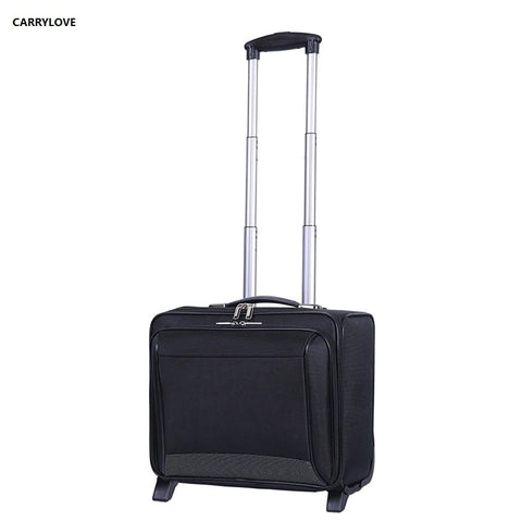 Carrylove  Business Luggage 16 Size Short Journey Business Men Rolling Luggage Spinner Brand Travel