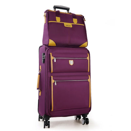Commercial Universal Wheels Trolley Luggage Travel Luggage Oxford Fabric Canvas Box General 14 22